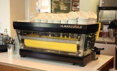 Custom La Marzocco espresso machines from Zink Design.