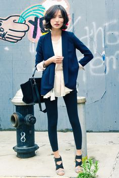 black and blue via miss pouty on chictopia