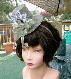 Fascinator Top Hat/Headband
