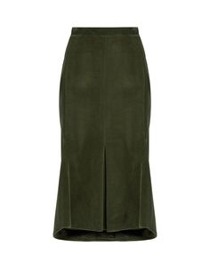 Corduroy midi skirt | Balenciaga | MATCHESFASHION.COM