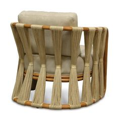 Strings Attached Lounge Chair Back