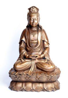Seated Kuan Yin - Buddha Statues