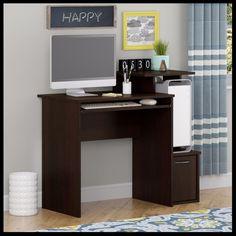 Compact Computer Desk Student Bedroom Workstation Keyboard Shelf Storage Cabinet #CompactComputerDesk #ModernCompact Tall Cabinet Storage, Locker Storage, Student Bedroom, Cabinets For Sale, Office Desk, Corner Desk, Shelves, Essentials, Furniture