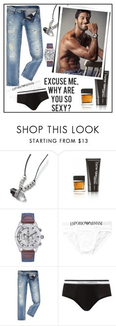 """""""EXCUSE ME, WHY ARE YOU SO SEXY?"""" by kskafida ❤ liked on Polyvore featuring Topman, Michael Kors, Calvin Klein, Dolce&Gabbana, men's fashion and menswear"""