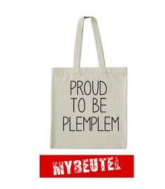 Jutebeutel - PROUD  Jutebeutel - ein Designerstück von MyBeutel bei DaWanda