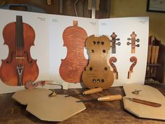 New wooden forms inspired by A. Stradivari 1716 Medici Cremona