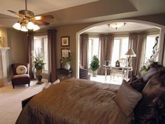 Master bedroom design-Big Trend Bedroom that Relatively Dense by H. Camille Smith