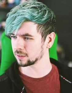 "Jack's green hair!!! OMG I really miss it :""("
