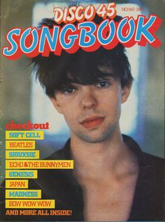 Ian McCulloch Echo And The Bunnymen, Soft Cell, New Romantics, Bow Wow, Radiohead, Post Punk, Pop Rocks, New Wave, Music Lovers