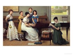 Home, Sweet Home   by George Dunlop Leslie