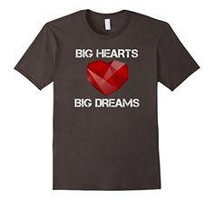 Mens Big Hearts Big Dreams T-Shirt 2XL Asphalt Big Hearts... https://www.amazon.com/dp/B0765GHY8X/ref=cm_sw_r_pi_awdb_x_YNt1zbMH9R2A4