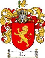 Pay for Ivy Family Crest  Ivy Coat of Arms