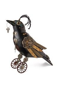 mechanical crow