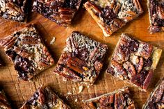 NYT Cooking: Chocolate Pecan Bars