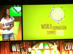 """""""You will be extraordinary""""  My little girl speaks about her 30 X 30 Campaign at the 2013 World Domination Summit!"""