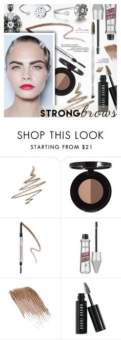 """""""Raise Your Brows"""" by totwoo ❤ liked on Polyvore featuring beauty, Anastasia Beverly Hills, Benefit and Bobbi Brown Cosmetics"""