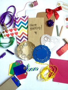 Happy Birthday Gift Wrapping Kit  by StaceysLove on Etsy