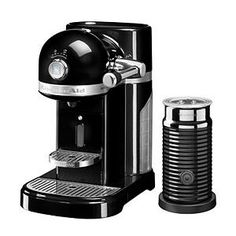 20% OFF, Now for £279.20, KitchenAid Nespresso Machine   Aeroccino Onyx Black deals at DealDoodle UK