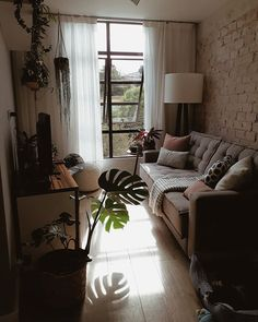 exciting small living room ideas to transform your cramped space 11 Narrow Living Room, Tiny Living Rooms, Small Living Room Design, Small Apartment Living, Small Apartment Decorating, Small Apartments, Home Living Room, Living Room Designs, Living Room Decor