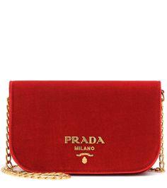 Prada – Velvet Shoulder Bag