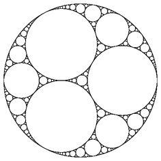 Apollonian gasket - Wikipedia, the free encyclopedia