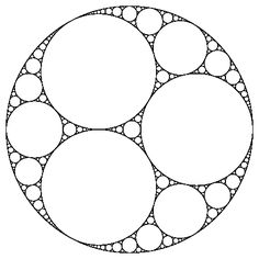 Apollonian gasket - Wikipedia, the free encyclopedia