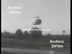 Maria Estela Martinez de Peron visita la VII Brigada Aerea Moron 1974 + @dailymotion Military Officer, Troops, Videos