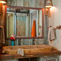 Bathroom Corrugated Metal Design, Pictures, Remodel, Decor and Ideas - page 2