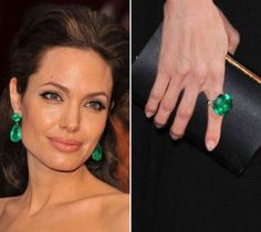 Angelia Jolie was such a trend setter wearing emerald gemstones at last years red carpet events.