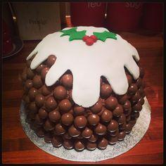 Rachels malteaser christmas pudding