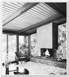 1962 Fireplaces How to Plan Build Mid Century Modern Old School Design Ideas | eBay