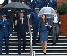 The Duke and Duchess of Cambridge during their last day of the New Zealand Tour in Wellington.
