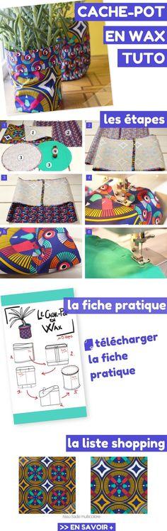 Cache-Pot en Wax Coloré et Tendance : Tuto, Fiche Pratique et Liste Shopping !    http://www.homelisty.com/3-diy-jardin-balcon-terrasse-beaux-jours/