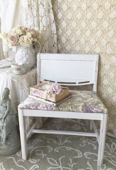 RESERVED Shabby Chic Pink Table - Cottage Chic, Chippy distressed ...