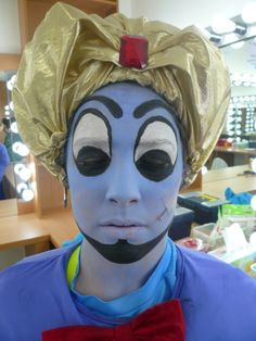 The Genie, from a MS production of Aladdin.