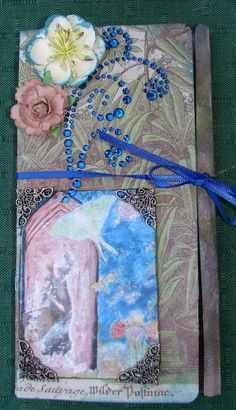 12 page boudoir journal - with an accent on the garden and sanctuary