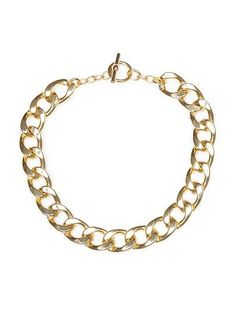 MANGO - XL links necklace