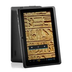 "Android 4.1 7 Inch Tablet ""Osiris"" - 1GHz CPU, WiFi, Front Facing Camera, 4GB. Android 4.1 7 Inch Budget Tablet with 1GHz processor, Wi-Fi and front facing camera. Don't want to break the bank when buying a tablet? Have a look at this budget tablet. The ""Osiris"" is your perfect entry level tablet. It does exactly what a tablet was created for, and it will do it good. Browsing the internet, updating you twitter, watching movies while on a trip and playing games is what you'll be able to do..."
