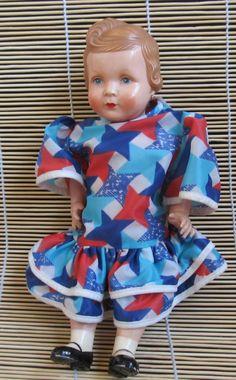 Retro panenka značeno 27cm
