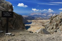 photographer:  Forester Pass - Sierra Mountains CA - Mt Whitney in Distance  Looks like an awesome hiking spot
