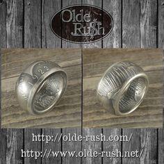 PEACE DOLLAR RING [SIZE:JP21]  明けましておめでとうございます 2016年はありがとうございました  2017年世界中に平和が訪れる事を願って新年一発目はピースダラーで作成したコインリングです  #coinring #coinjewelry #handmade #peace #peacedollar #silvercoin #onedollor #handmade #silversilversmith #usa