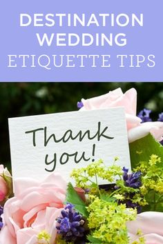 Check out this expert #advice on destination wedding #etiquette ...a must read!