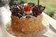 Italian Layered Continental Cake http://www.themasterchefette.com/2013/03/italian-layered-continental-cake.html