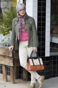 Dear Stitch Stylist - Love everything about this look...from the color palette to sophisticated casual tone of the style and accessories.