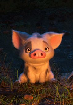 Pua, loyal friend of moana pua pig, gif no, hi gif, disney Disney Animation, Disney Pixar, Disney E Dreamworks, Art Disney, Film Disney, Disney Kunst, Disney Movies, Disney Characters, Disney Sidekicks