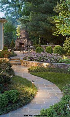 Modern Backyard Garden