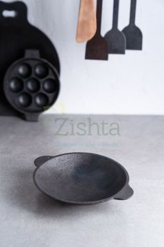Zishta cast iron appachatti is made using the traditional sand moulds from the local river sand, known for it's speciality of fine sand as it is in a high flow region of the river. Pure railway grade iron is used in the casting process. Buy Clay, Wood Chopping Board, Seasoning Cast Iron, High Iron, Fine Sand, Sand Casting, Low Carbon, Cast Iron Cookware, Organic Living