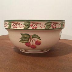 Vintage Cherry Mixing Bowl - Cherry Pottery