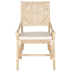 Travel has always been at the heart of the modern lifestyle, and the Donatella arm chair brings instant international flair to the table. This design classic is crafted with fine rattan, rawhide lacin