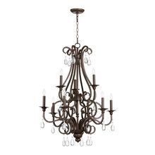 View the Quorum International 6013-9 Anders 9 Light 2 Tier Up / Down Lighting Chandelier at Build.com.